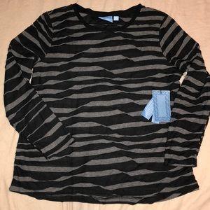 Simply Vera black/grey casual blouse